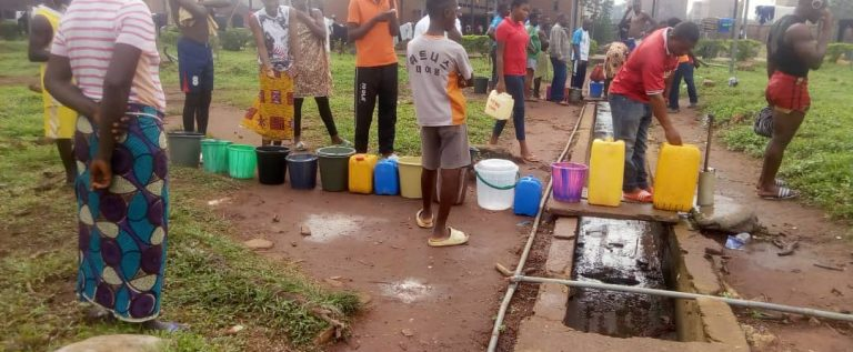 Sports Festival: Pandemonium As Athletes Fight For Food, Chairs, Plates Broken