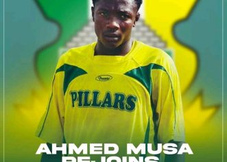 Kano Pillars Sign Super Eagles Captain Ahmed Musa  On Short Deal