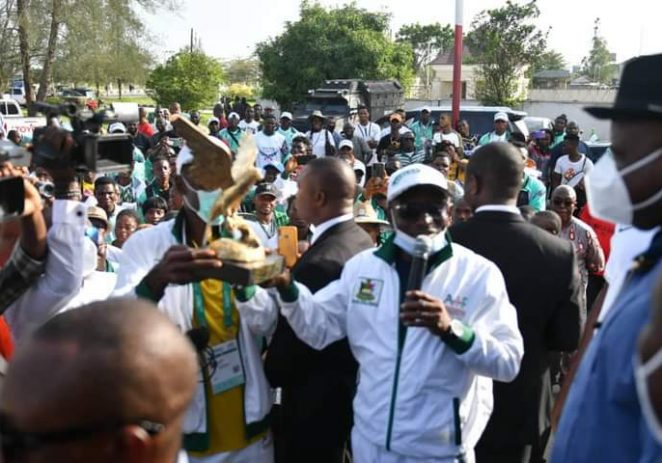 Sports Festival: Governor Diri Receives Victorious Bayelsa State Athletes