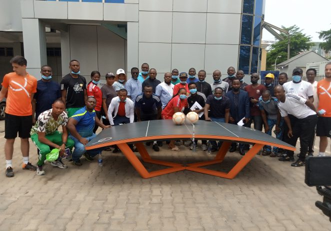 Nigeria Teqball Federation Coaches, Referees 4-day Capacity Training In Abuja Declared Open