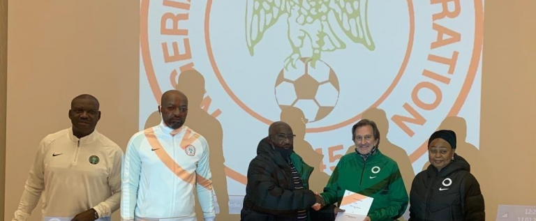NFF To Waldrum: We Will Support You To Make Falcons Dominant Team Outside Africa