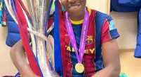 Asisat Oshoala Becomes First Africa Woman To Win UEFA Champions League