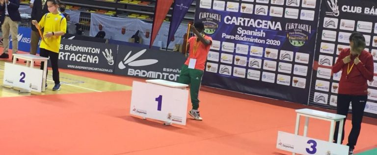 Nigeria's Bolaji Wins Historic Gold At The Spanish Para badminton International Championship