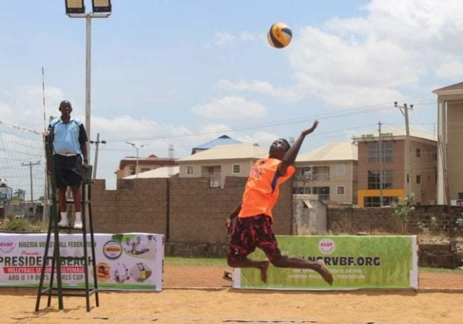 45 Teams Jostle For President Beach Volleyball Cup