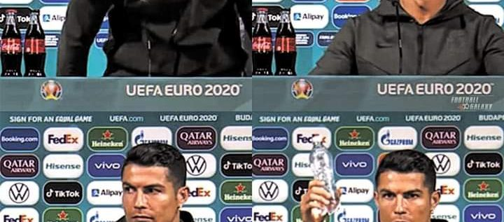 Coca-Cola Loses $4 Billion Hours After Ronaldo Removed Bottles From News Conference Table
