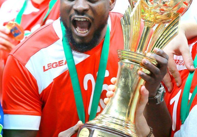 Nigerian International Goalkeeper Adams Dedicate Arab Super Cup Win To HFN, Ocheho