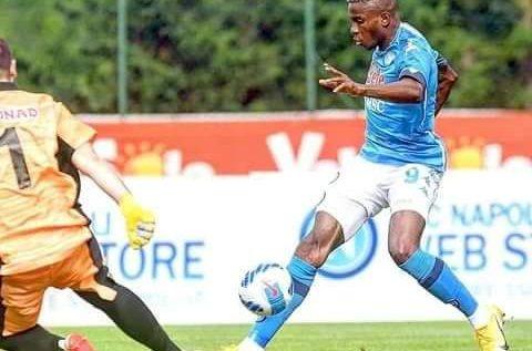 Victor Osimhen Scores 4 goals In Napoli's Pre-season Win