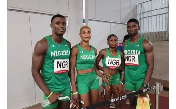 Tokyo 2020: Nigeria Breaks New Africa Record, Crash Out Of Mixed 4x400m Relay