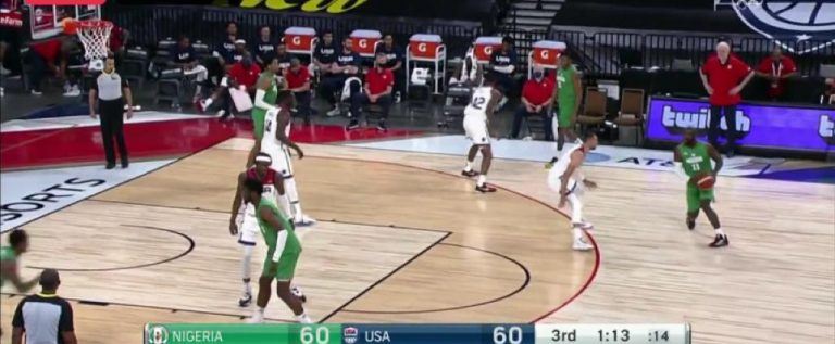 Tokyo Olympic Warm-up: D'Tigers Record First Ever Win Against USA In Basketball