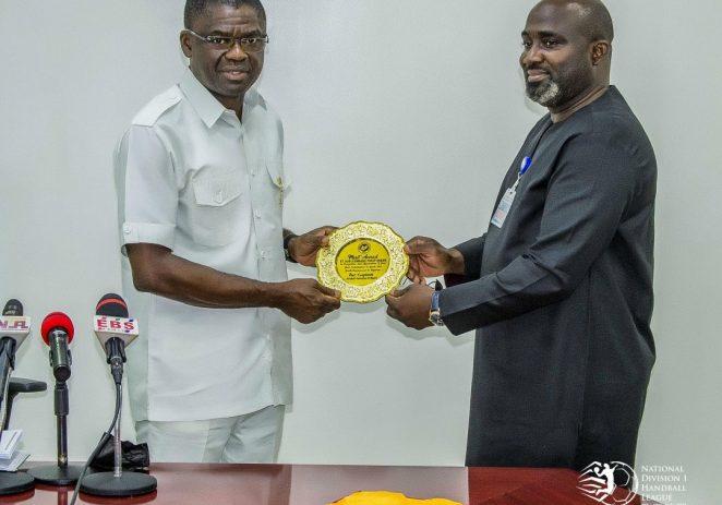 Division One Handball League: Edo State, HFN Sign Four-Year Sponsorship/Hosting Deal