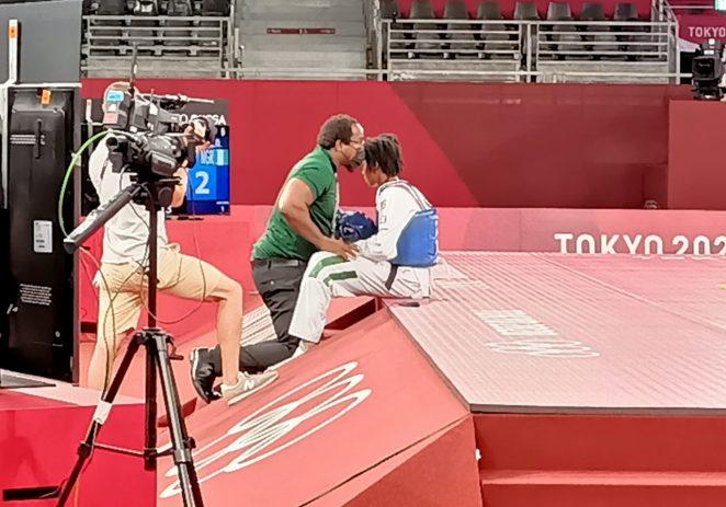 Dodged Anayanacho Bows Out Of Olympics Taekwondo After Defeat To Tarkar