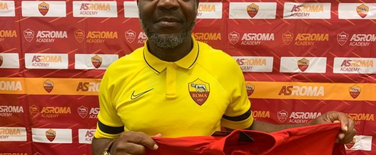 Former Flying Eagles Coach, John Obuh Appointed AS Roma's Technical Director