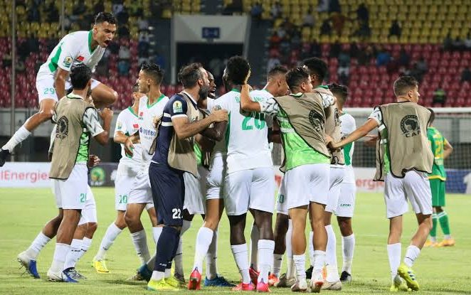 How 10-man Raja Defeated JS Kabilye To Win CAF Confederation Cup
