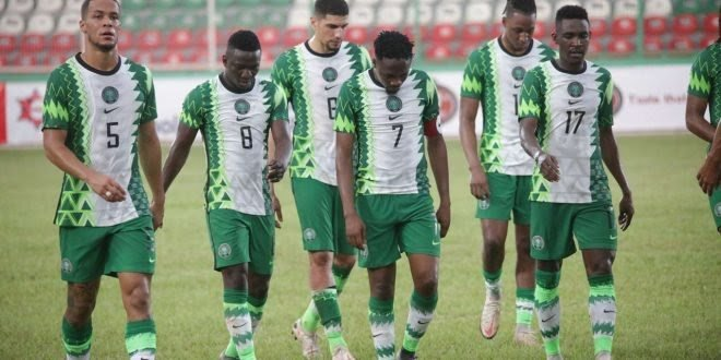Super Eagles World Cup Qualification Hope Dented After CAR Defeat In Lagos