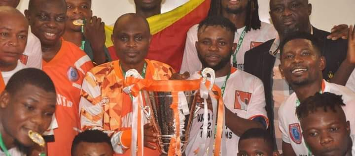 NPFL Champions, Akwa United Embark On One-week Break, Thank Governor, Nigerians For Supports