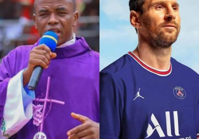 Fr. Mbaka – Messi Is A Gift To The Football Universe