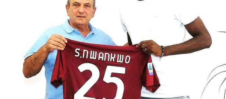 Simy Nwankwo Joins Serie A New Boys Salernitana