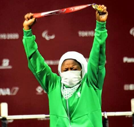 Team Nigeria Win First Gold Medal At Tokyo Paralympic Games