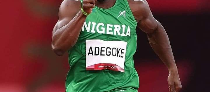 Edo State Lauds Olympics 100m Finalist, Enoch Adegoke Despite Injure
