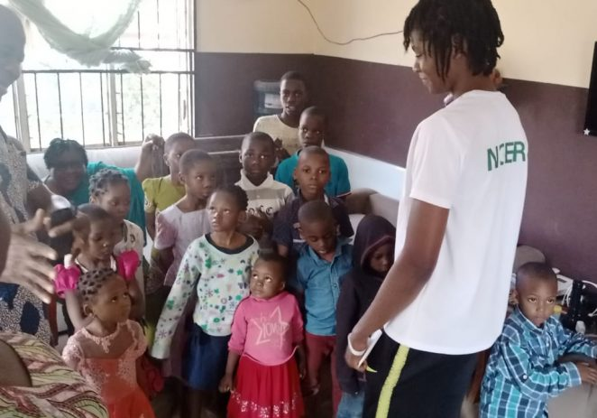 After Historic Olympic Debut, Elizabeth Anyanacho Visits Orphanage Home