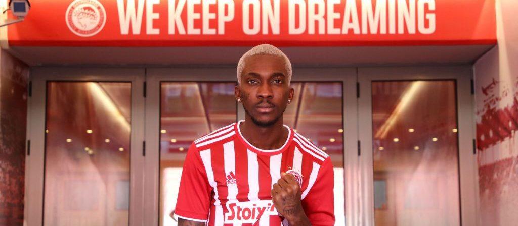 Henry Onyekuru igns 4-year Deal With Olympiacos