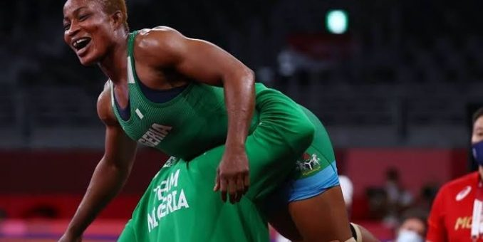 Tokyo 2020: Nigeria Set To Win First Medal As Blessing Oborududu Fights In Wrestling Final Tuesday