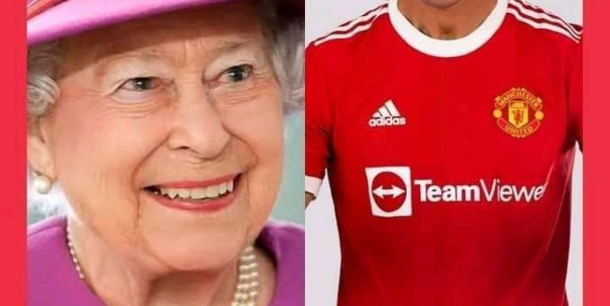 UK Queen Demands For 80 Cristiano Ronaldo's First Signed Jersey At Man United