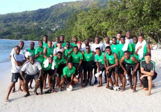 Super Eagles Arrive Cape Verde For World Cup Qualifying Clash