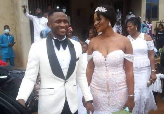 Ghana Black Stars Striker Marries Longtime Girlfriend