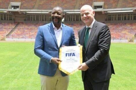 Moshood Abiola Stadium Deserves Quality Football Matches – FIFA President