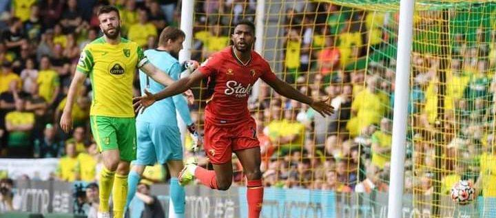 Emmanuel Dennis Scores As Watford Defeat Norwich In EPL