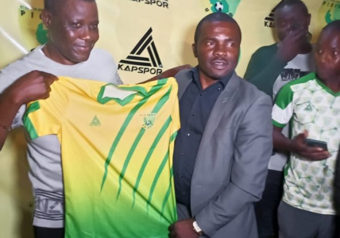 Plateau United Unveil Fidelis Ilechukwu As New Coach On Two-year Contract