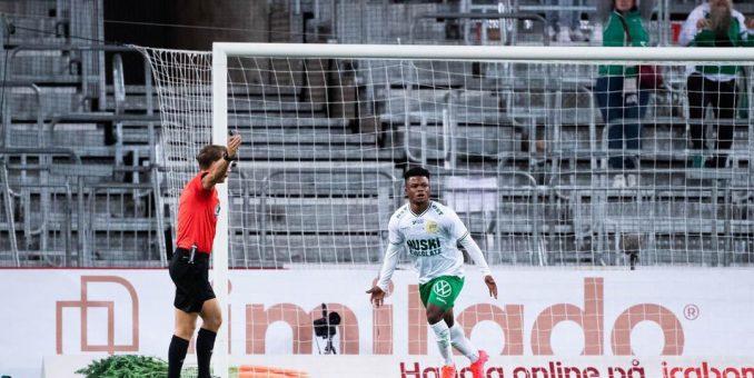 Akinkunmi Amoo's Lone Strike Secures Vital Home Win For Hammarby In Swedish League