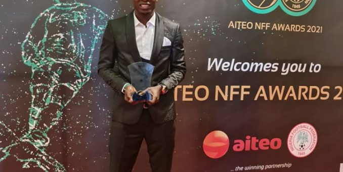 NPFL: Silas Nwankwo Emerges Best Player Of The Year