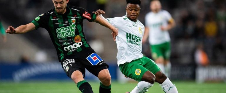 Akinkunmi Amoo Sets Sight For More Goals After Scoring Against Varbergs