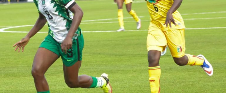 Aisha Buhari Cup: How Monday Gift Gifted Falcons Victory Against Mali