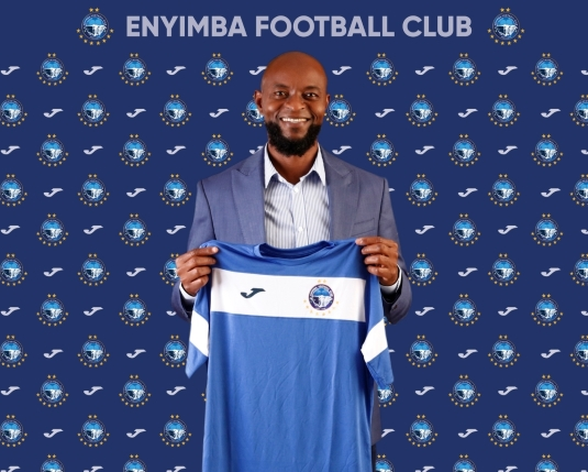 """""""I Am Here To Work And Make The Team Win"""" – New Enyimba Coach, Finidi George"""