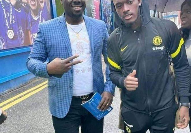 Obi Cubana Watches Chelsea Defeat Southampton At Stamford Bridge
