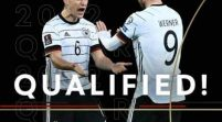 Germany Becomes First Nation To Qualify For 2022 World Cup
