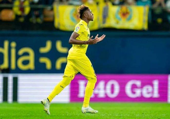 Chukwueze Scores As Villarreal Thrash Young Boys In Champions League