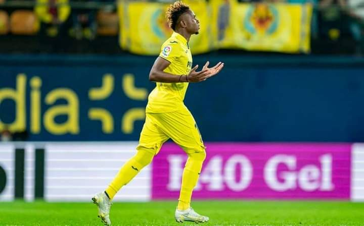 """""""It Has Been God All Through"""" – Chukwueze Reacts As He Plays First La Liga Match"""