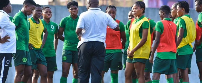 Falconets Battle Central Africa In 2022 FIFA U-20 Women's World Cup Qualifier