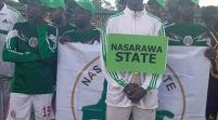 SHAME: Nasarawa State Contingent Appear In Mexico Jersey During National Youth Games Parade