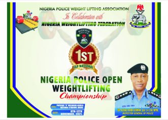 First IGP Open Weightlifting Championship Begins In Abuja November 8